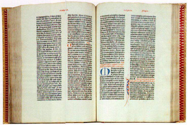 gutenbergbibel - Johannes Gutenberg Lebenslauf
