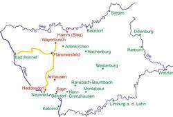 Westerwald Karte.Leben Und Arbeiten Im Westerwald Regionalgeschichte Net