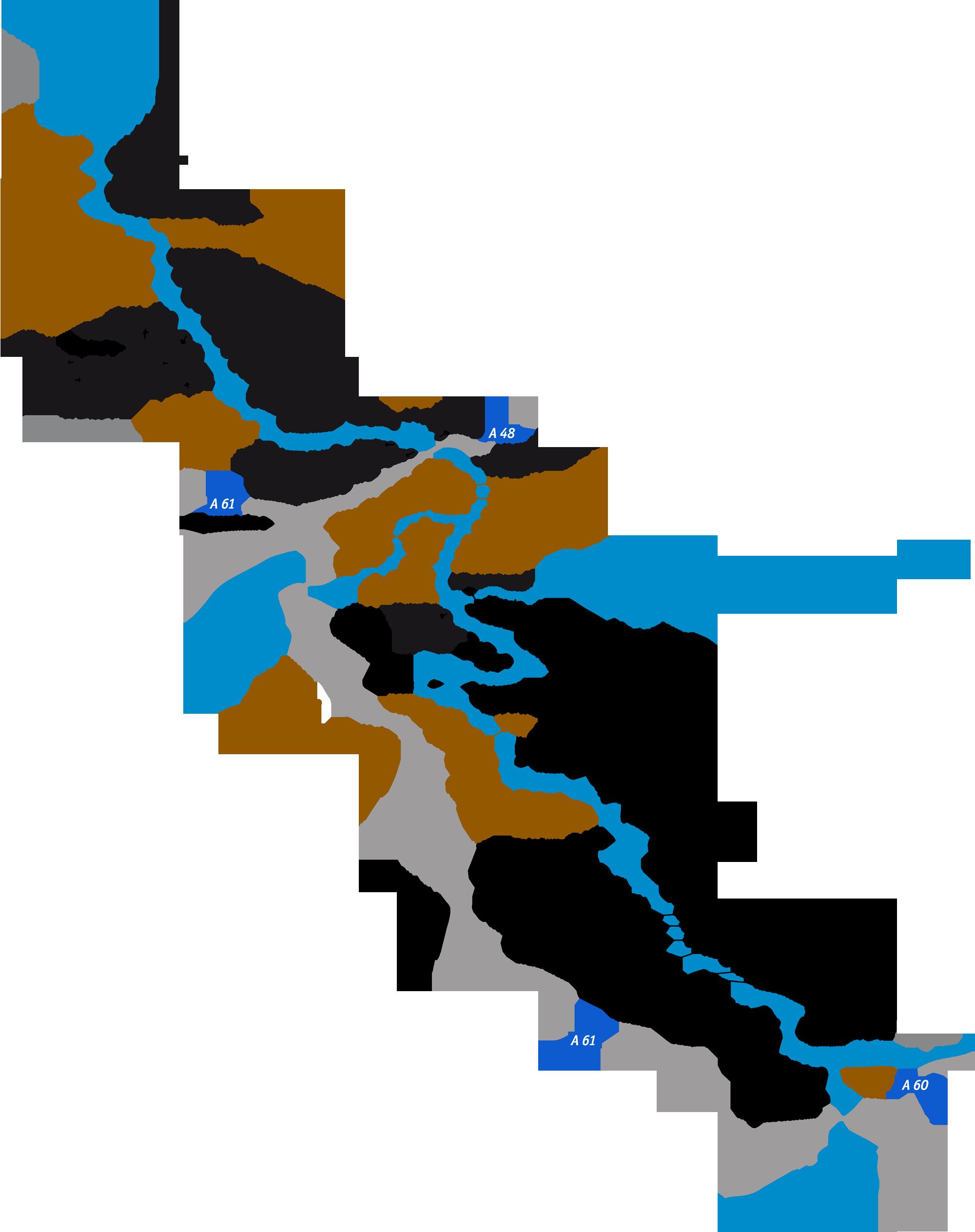 Mittelrheinkarte